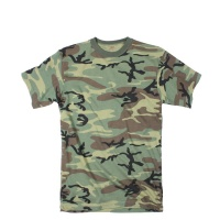 Футболка Rothco Woodland Camo Extra Long Length T-Shirt - в интернет магазине «PRO Hunt»