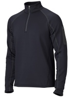 Пуловер Stretch Fleece 1/2 Zip, Black - в интернет магазине «PRO Hunt»