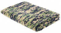 Походное одеяло Rothco Camo Fleece Blanket,Woodland Digital Camo