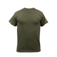 Футболка Rothco Solid Color Green T-Shirt - в интернет магазине «PRO Hunt»