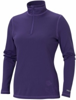 Термобелье Wm's  Midweight Zip Neck,Dark Violet - в интернет магазине «PRO Hunt»
