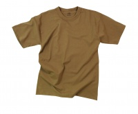 Футболка Rothco Solid Color Brown T-Shirt - в интернет магазине «PRO Hunt»