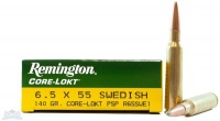 Remington Патроны, 6.5X55 SWED MAUSER, 140 gr., PSP