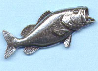 LARGEMOUTH BASS PIN-значки
