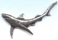 BLUE SHARK PIN-значки
