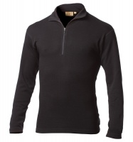 Термобелье Minus33 Isolation Men's Midweight 1/4 Zip, Black - в интернет магазине «PRO Hunt»